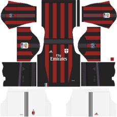 kit dls ac milan retro kit dls ac milan retro similar design fts 15 retro kits bliblinews update kits uniformes ac