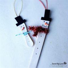 diy craft stick santa snowman craft for kids easy kid s ornaments craft