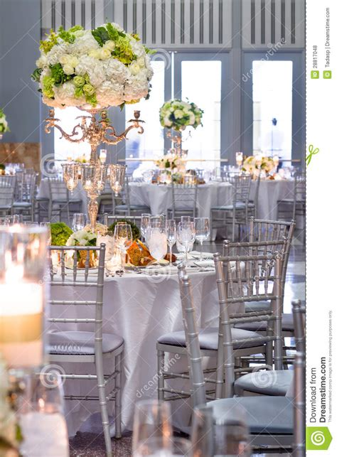 wedding tables decorations royalty free stock photos image