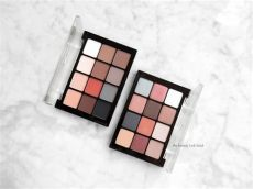 viseart palettes viseart eyeshadow palettes in neutral matte and sultry muse the look book