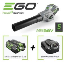 ego lb4800e 56v leaf blower ego cordless leaf blower with 56v battery and charger 163 199 garden4less uk shop