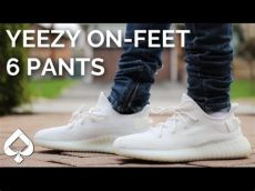 yeezy white cream on feet adidas white yeezy boost 350 v2 on cop or drop