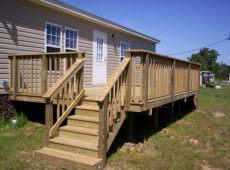 mobile home deck designs pictures mobile homes minden bossier city shreveport la sunset decks and pergolas