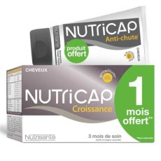 nutricap shooing anti chute nutricap croissance cheveux 180 gelules shoing anti chute offert 150ml