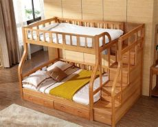 camas literas modernas de madera litera moderna cama literas ni 241 os de madera de abedul cama en camas de muebles en aliexpress