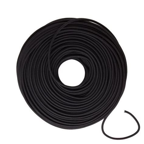 cloth covered electrical wire black cotton blend color