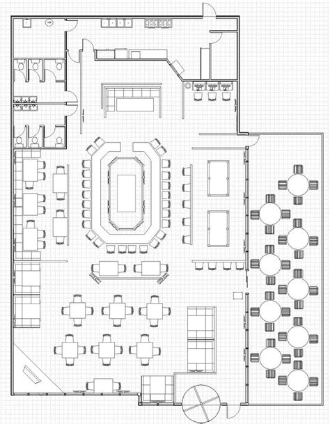 image result famous restaurant layout plan restaurant floor