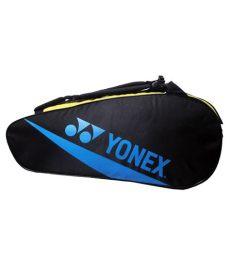 yonex badminton kit bag amazon yonex professional multicolour badminton kit bag buy at best price on snapdeal