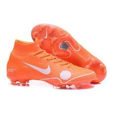 nike mercurial superfly x off white nike white mercurial superfly 6 elite fg football boots orange