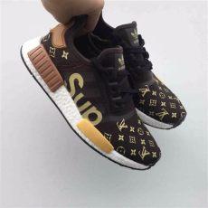 supreme x louis vuitton x adidas nmd r1 s fashion footwear on carousell - Adidas Nmd Louis Vuitton Price