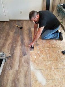 vinyl deck flooring installation how to install vinyl plank flooring hometalk