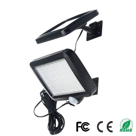 56 led solar outdoor waterproof ip65 pir