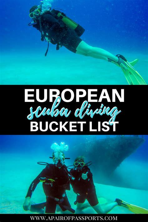 scuba diving europe