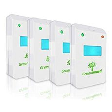 green guard pest control ultrasonic greenguard ultrasonic eco friendly pest repeller 4 pack for mice mosquitos roaches spiders