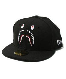 bape cap bape x new era shark cap black j zay kanye west big pharrell williams highly recommended