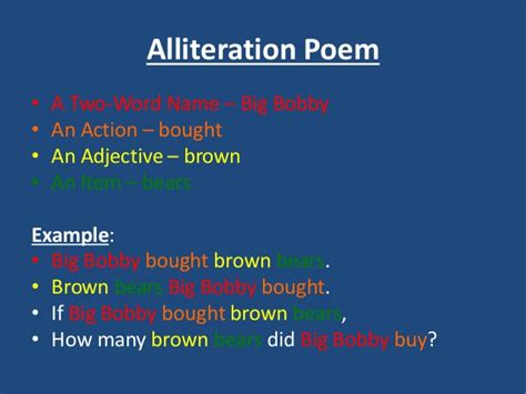 alliteration poem monsters pinterest