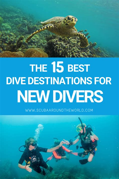places scuba dive beginners scuba diving diving thailand