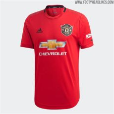jersey kit dls mancester united 2019 manchester united 19 20 home kit released footy headlines
