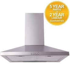 quiet cooker hood extractor fans sia chl61ss 60cm stainless steel chimney cooker extractor fan 700064137826 ebay