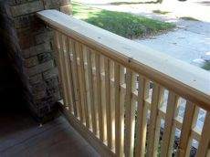 craftsman style porch railings milestone thirty one of craftsman style porch railing by delayne peck lumberjocks