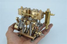 live steam engine kits for sale two cylinder steam engine m29b live steam ebay