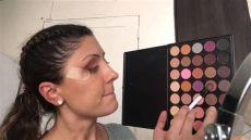 morphe 35n palette tutorial glam tutorial with focus on morphe 35n palette