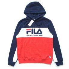 fila x gosha rubchinskiy hoodie nwt gosha rubchinskiy x fila s flag logo hoodie sweatshirt m l xl authentic ebay mens
