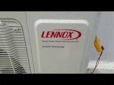 mini split lennox inverter lennox mini split inverter