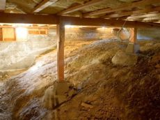 how do you insulate a crawl space with a dirt floor crawl space insulation what you should hgtv