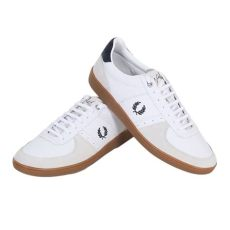 fred perry shoes price fred perry shoes white trentham leather and suede trainers b4227 fpry4188 at togged clothing
