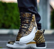 b r kicks on quot fully exposed air 12 wings quot https t co ng9gbyfijo quot - Jordan 12 Wings Exposed
