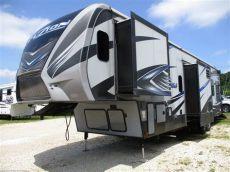 2016 keystone fuzion 371 for sale 2016 keystone fuzion 371 slide rear 11 garage w patio deck rv for sale in williamstown