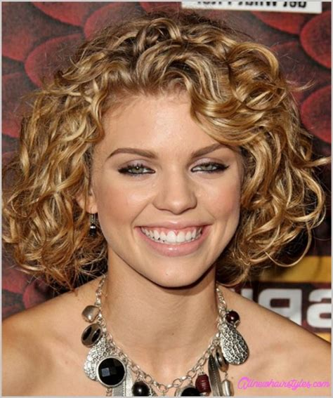 medium length curly haircuts faces allnewhairstyles