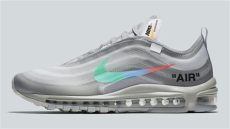 air max 97 x off white grey white x nike air max 97 white wolf grey white menta release date aj4585 101 sole collector