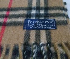 purchased this burberry scarf listed as vintage a the ebay community - Vintage Burberry Scarf Label