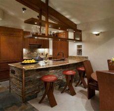 desayunador rustico cocinas - Ideas Para Desayunadores De Cocina Rusticos