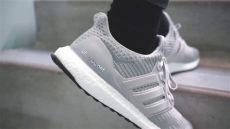 adidas ultra boost 4 0 grey two on - Adidas Ultra Boost 40 Grey On Feet