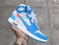 off white jordan 1 blue white air 1 unc powder blue aq0818 148 sneaker bar detroit
