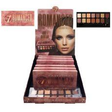 w7 palette romanced w7 romanced eyeshadow palette 6pcs colour zone cosmetics