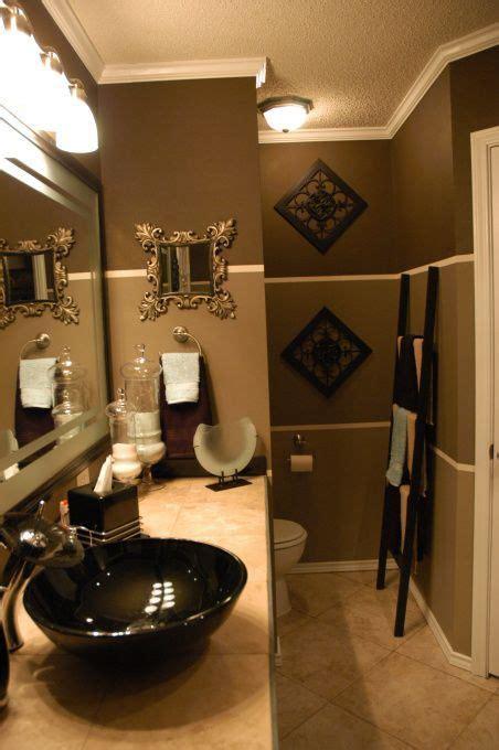 gold paint color white seafoam tile bathroom ideas