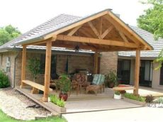 cost to build a covered patio attached to a house patio ideas backyard attached covered addition home design screened porch deck