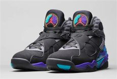 reminder air 8 retro quot aqua quot releases tomorrow 11 27 air 23 air release dates - Air Jordan Retro 8 Black Purple Aqua