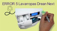 error 5 lavarropas drean next - Error E5 Lavarropas Drean