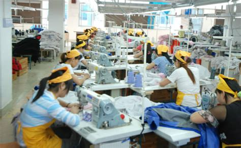 find clothing manufacturers china factories list