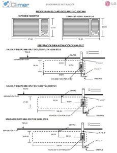 187 diagrama instalacion minisplit - Diagrama Instalacion Minisplit