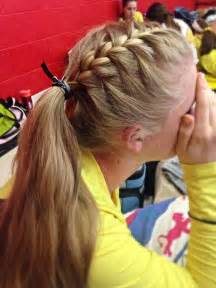 volleyball hair volleyball hairstyles track hairstyles sporty hairstyles