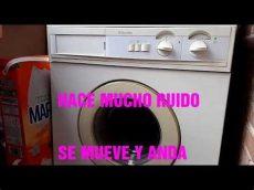 mi lavadora hace mucho ruido mi lavadora traquetea hace mucho ruido