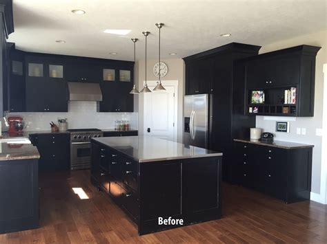 Paint Kitchen Cabinets White Or Black.html
