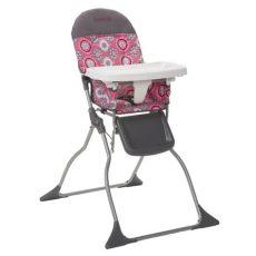 silla periquera walmart cosco simple fold high chair posey pop hc225dcc nurzery