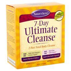 nature s secret 7 day ultimate cleanse 72 ct walmart - Detox Shoo Walmart